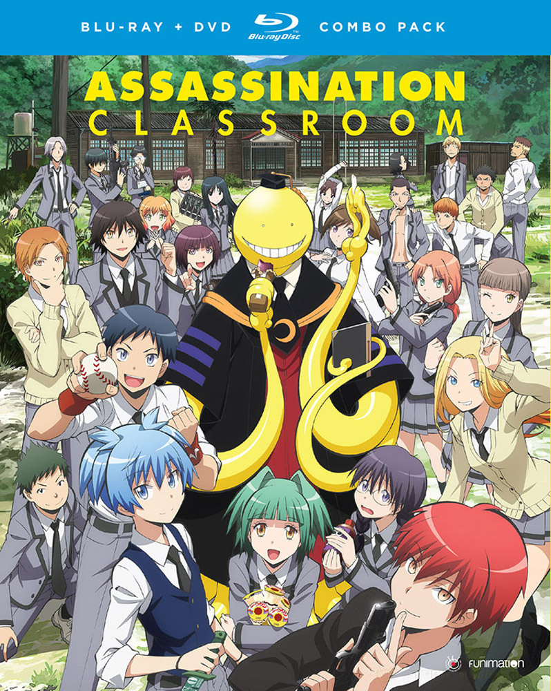 Assassination Classroom Season 1 Part 1 Blu-ray/DVD 704400014413