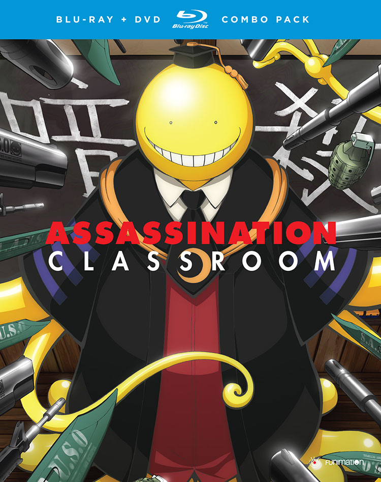 Assassination Classroom Season 1 Part 2 Blu-ray/DVD 704400014437
