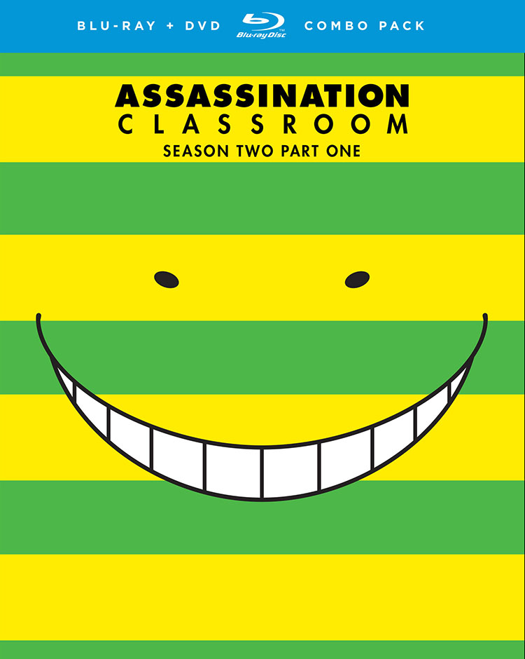 Assassination Classroom Season 2 Part 1 Blu-ray/DVD 704400014451