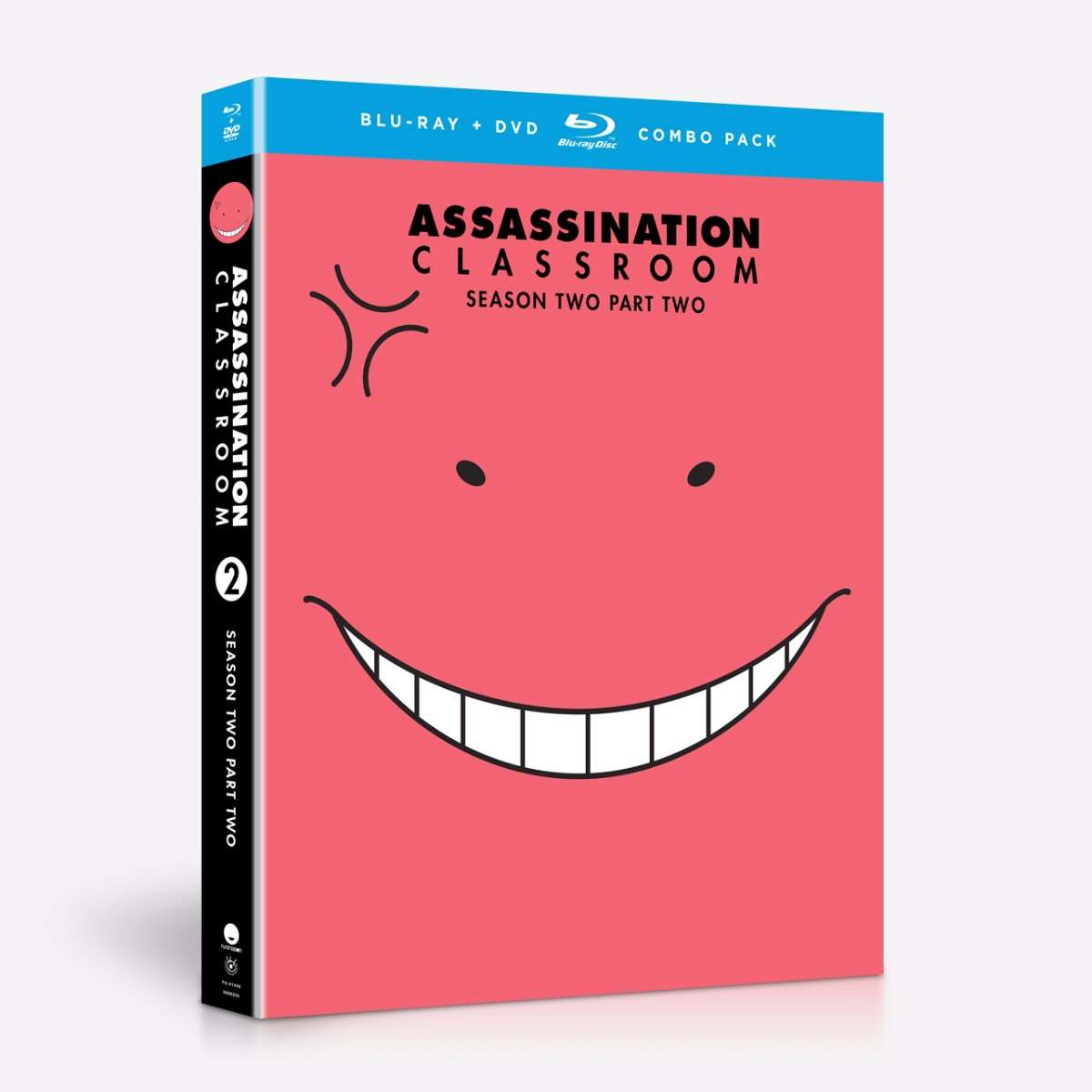 Assassination Classroom Season 2 Part 2 Blu-ray/DVD 704400014482