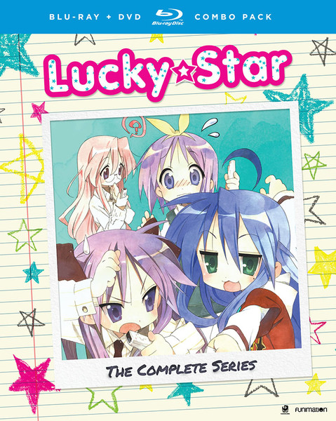 Lucky Star the Complete Series OVA Blu-Ray DVD