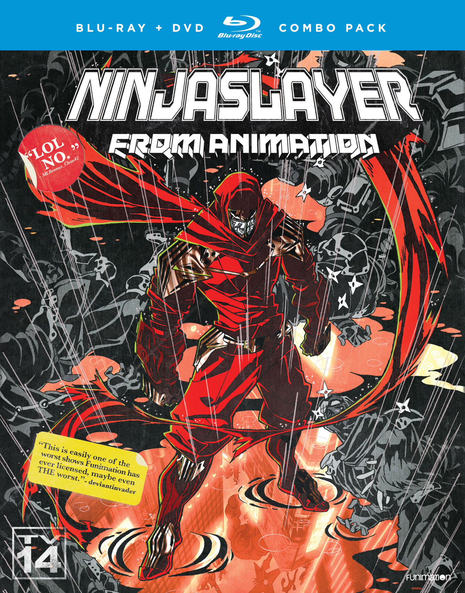 Ninja Slayer Blu-ray/DVD 704400014659