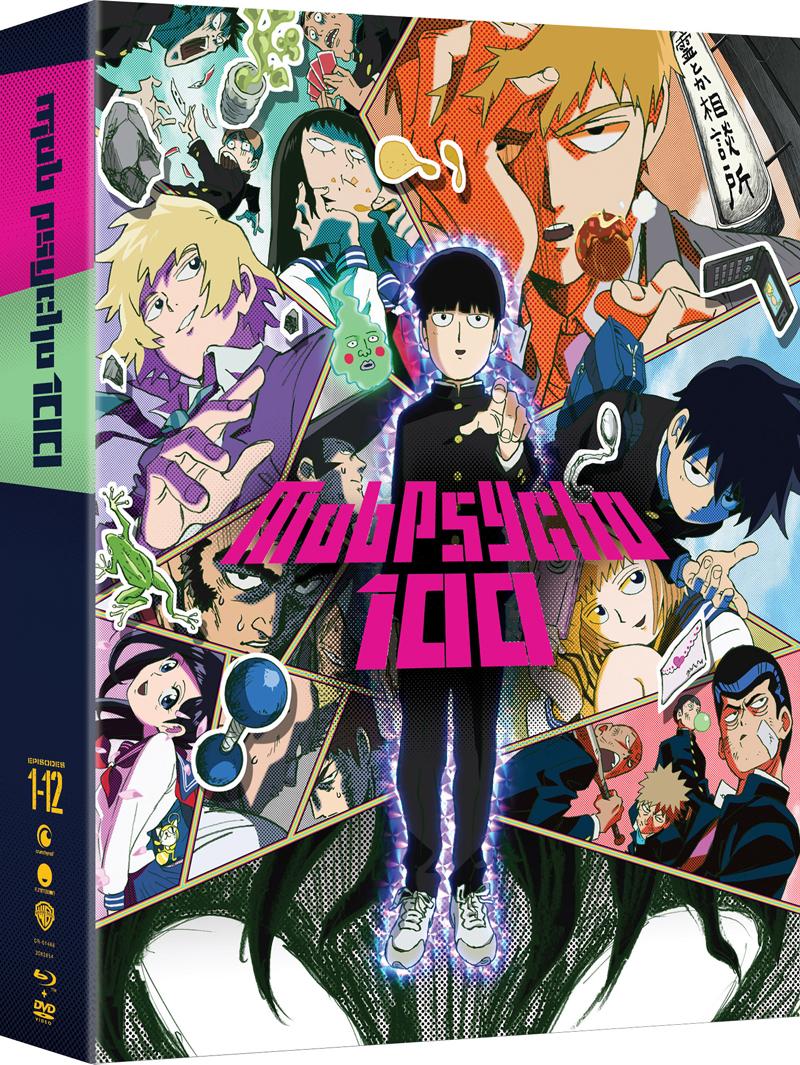 Mob Psycho 100 Limited Edition Blu-ray/DVD
