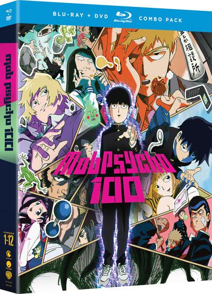 Mob Psycho 100 Blu-ray/DVD