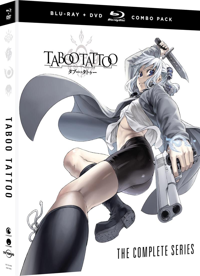 Taboo Tattoo Blu-Ray/DVD
