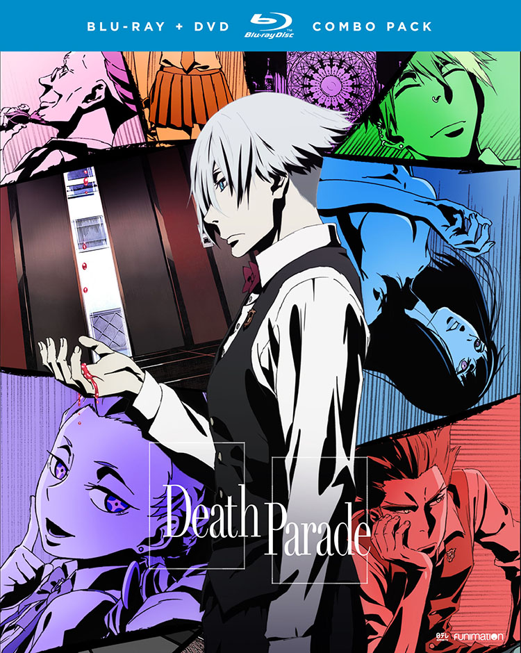 Death Parade Blu-ray/DVD 704400014710