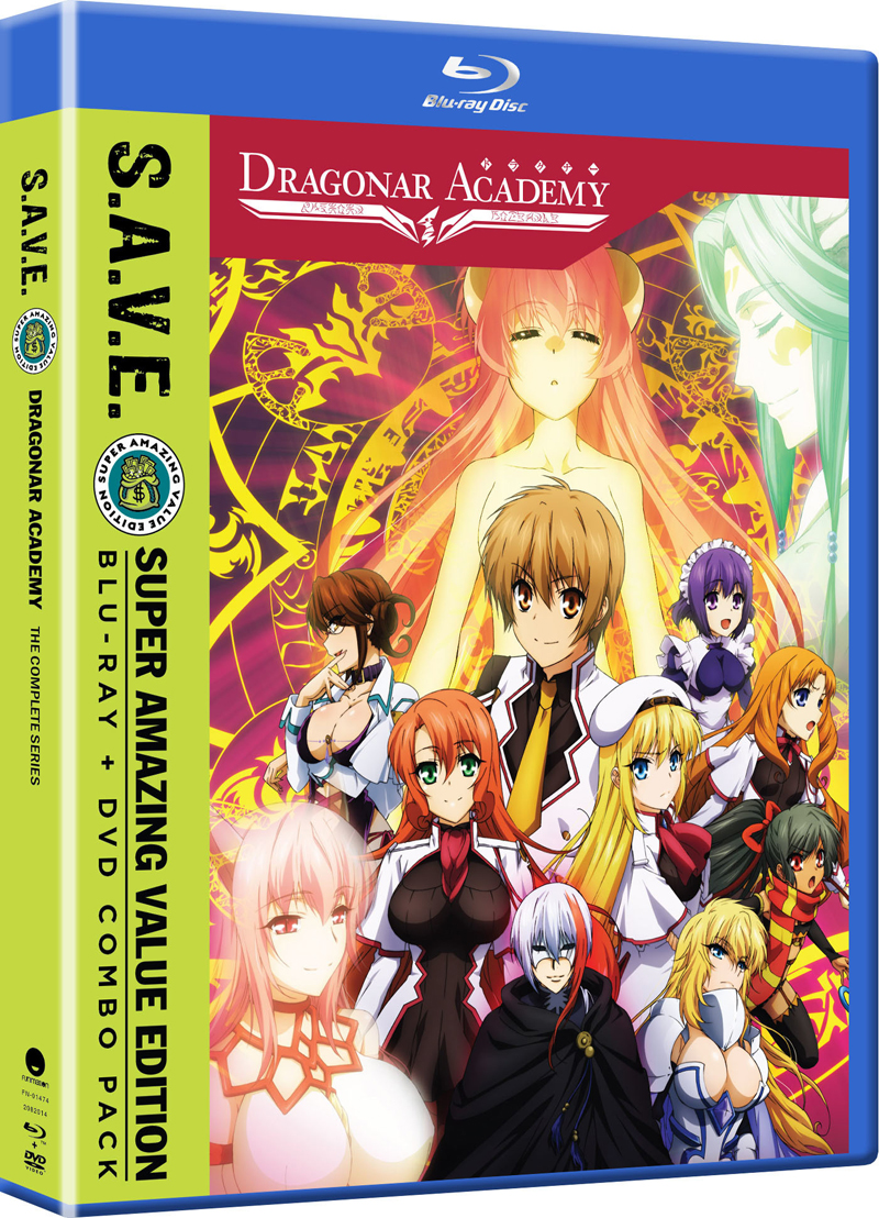 Dragonar Academy Blu-ray/DVD SAVE Edition 704400014741