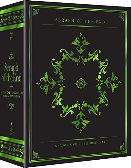 seraph of the end vampire reign collector s edition blu ray dvd