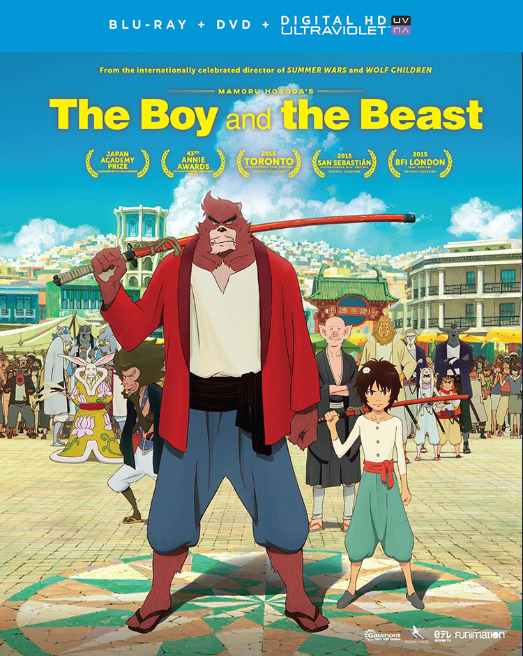 The Boy and the Beast Blu-ray/DVD 704400014918