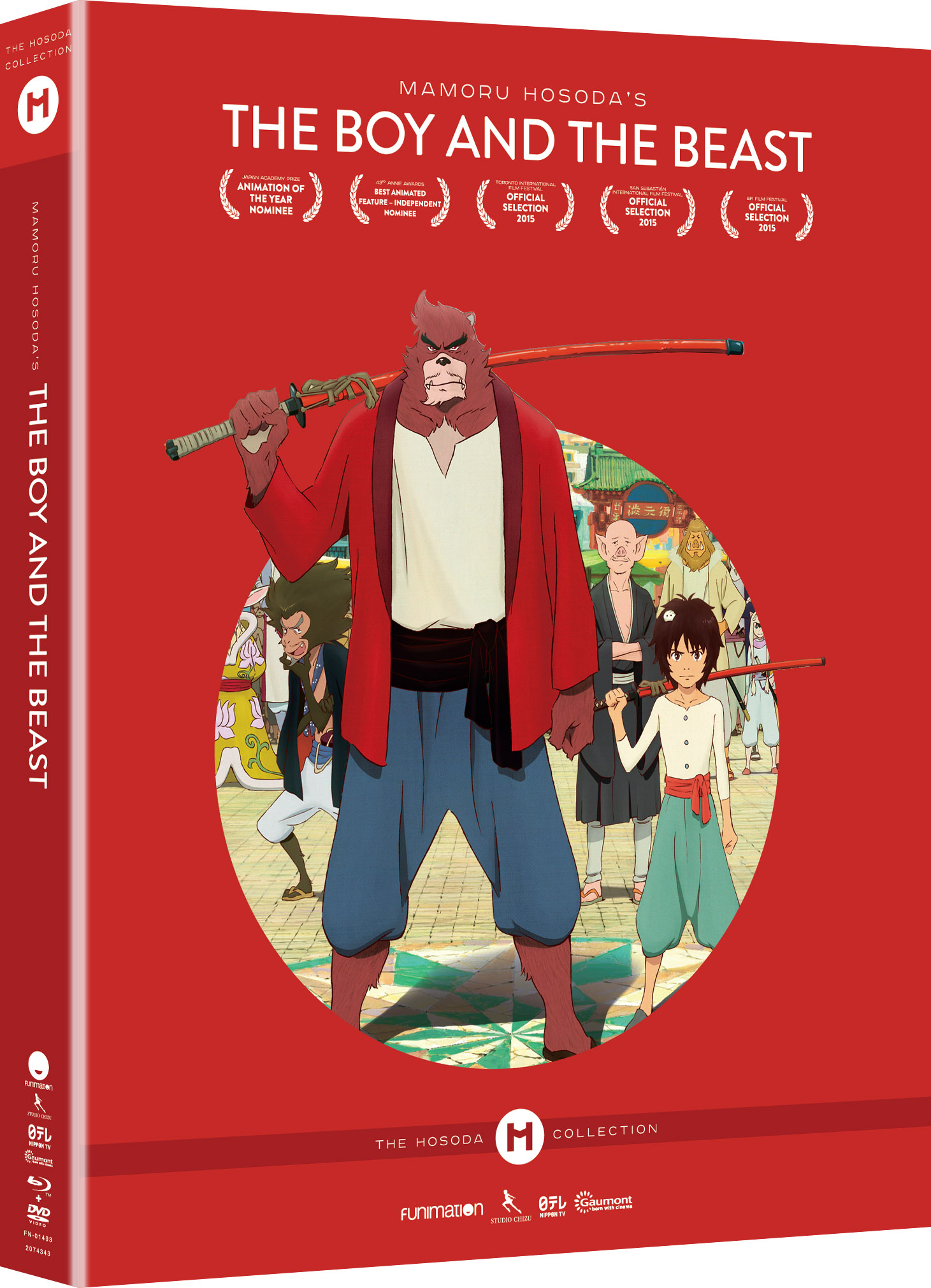 The Boy and the Beast Collector's Edition Blu-ray/DVD + UV