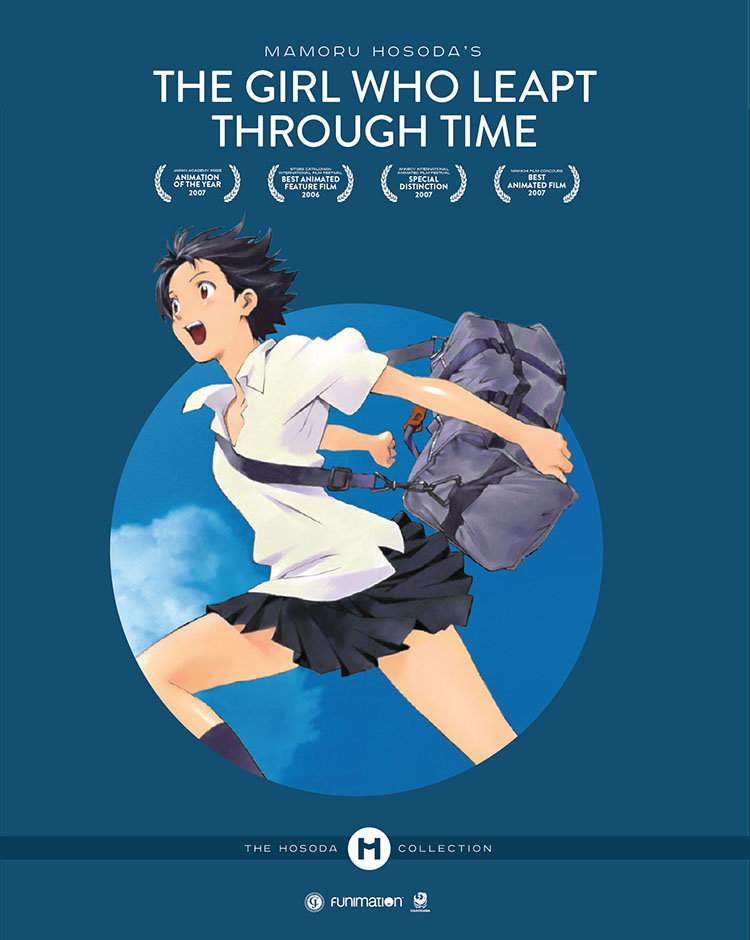 The Girl Who Leapt Through Time Collector's Edition Blu-ray/DVD + UV