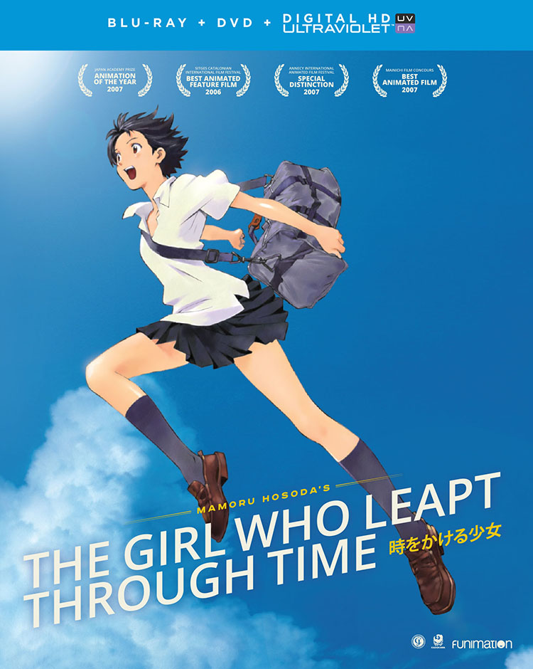 The Girl Who Leapt Through Time Blu-ray/DVD 704400014963