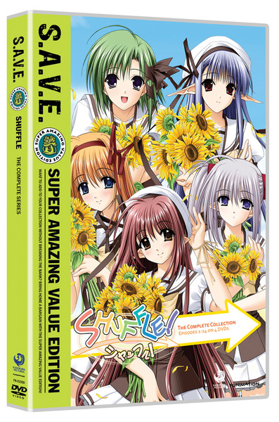 Shuffle Complete Series DVD SAVE Edition