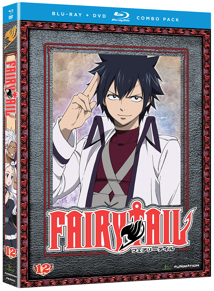 Fairy Tail Part 12 Blu-ray/DVD 704400015120