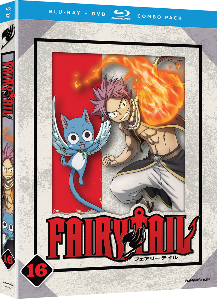 Fairy Tail Part Part 16 Blu-ray/DVD 704400015182