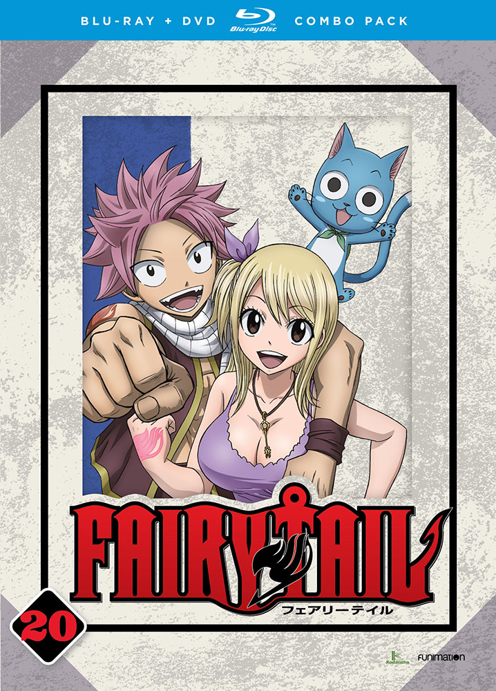 Fairy Tail Part 20 Blu-ray/DVD