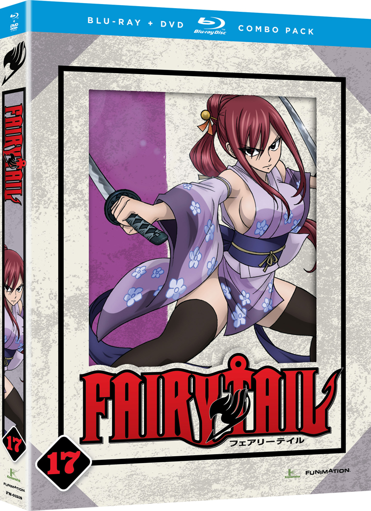 Fairy Tail Part 17 Blu-ray/DVD 704400015274