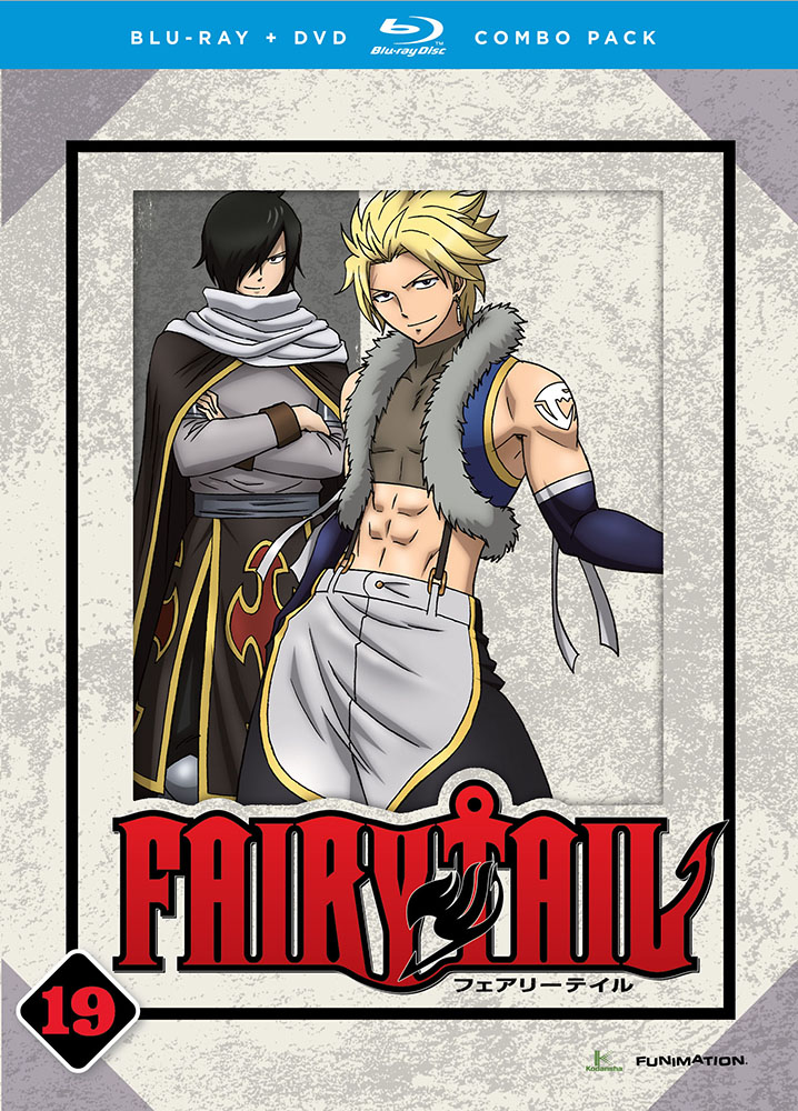 Fairy Tail Part 19 Blu-ray/DVD 704400015298