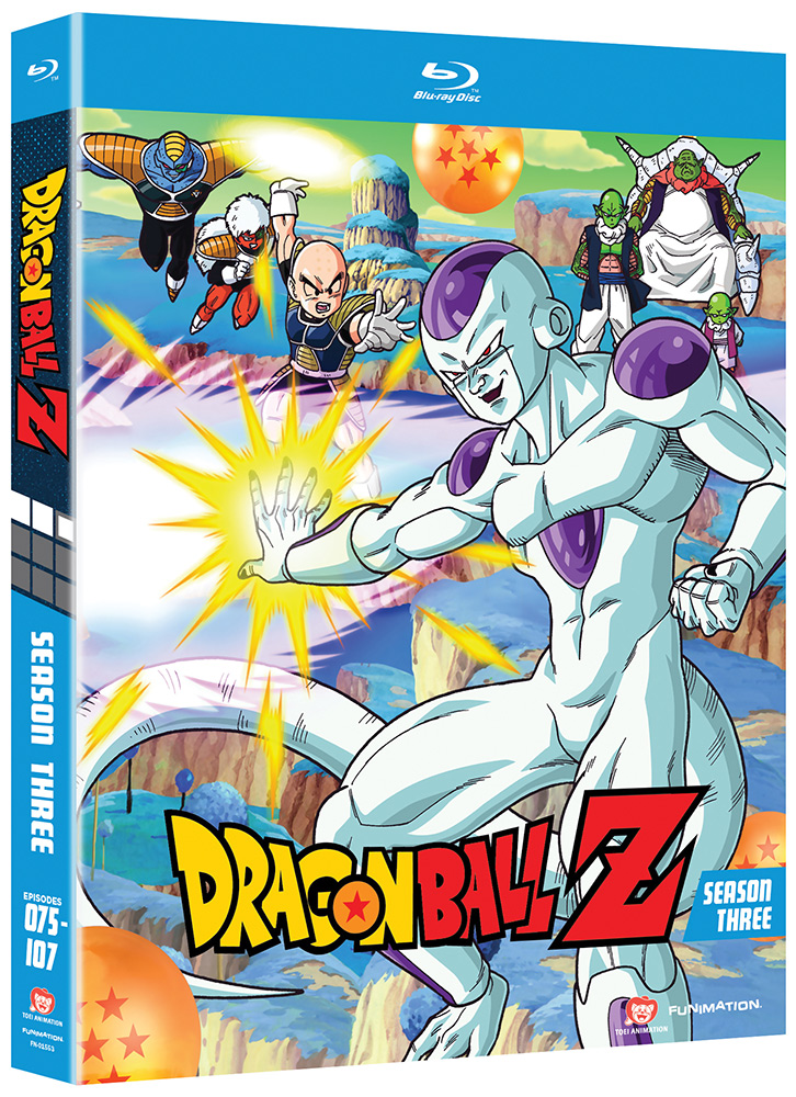 Dragon Ball Z Season 3 Blu-ray Uncut 704400015533