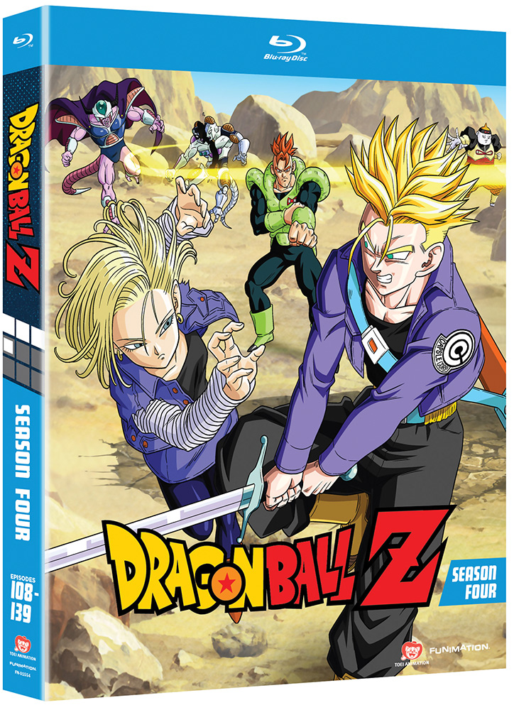 Dragon Ball Z Season 4 Blu-ray Uncut