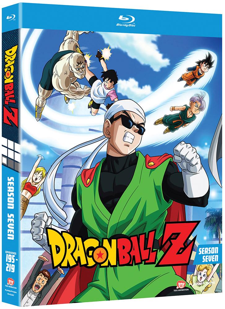 Dragon Ball Z Season 7 Blu-ray Uncut 704400015571