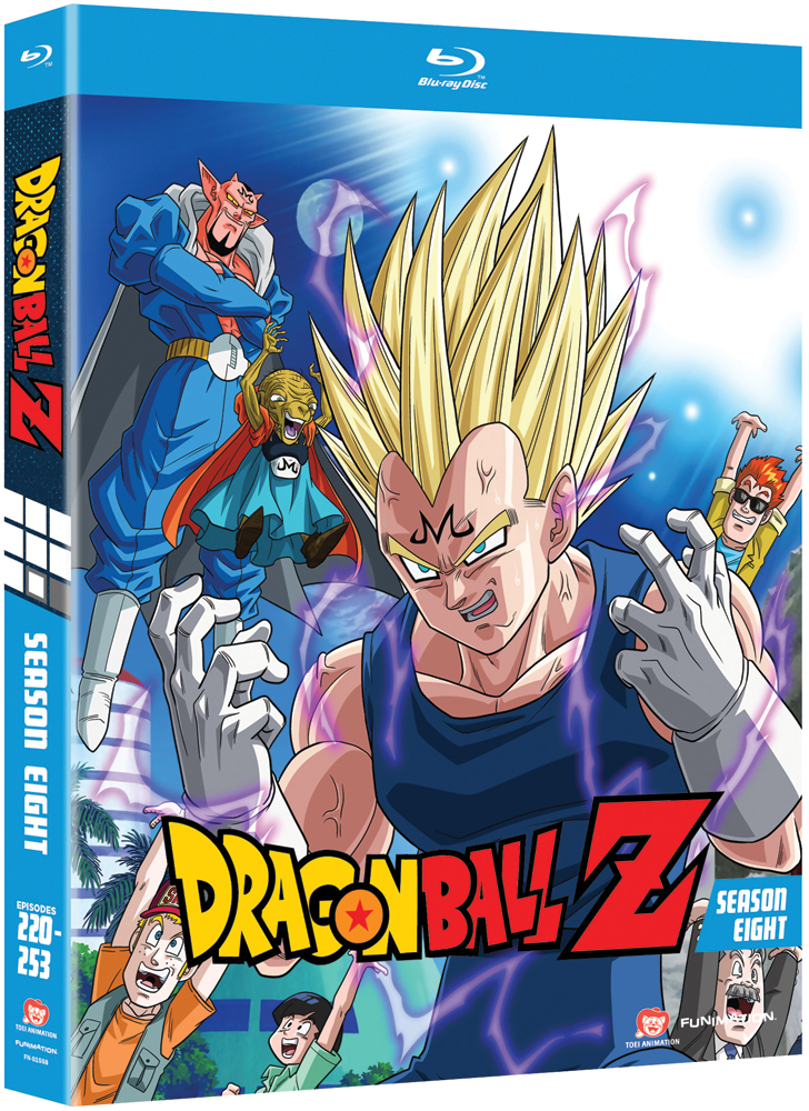 Dragon Ball Z Season 8 Blu-ray Uncut 704400015588