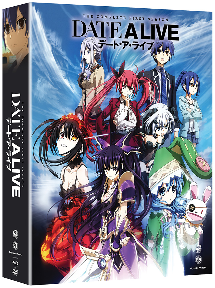 Date A Live Limited Edition Blu Ray DVD