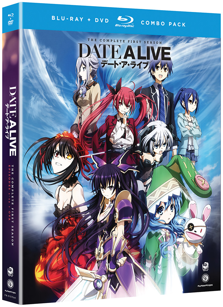 Date A Live Blu-ray/DVD 704400015717
