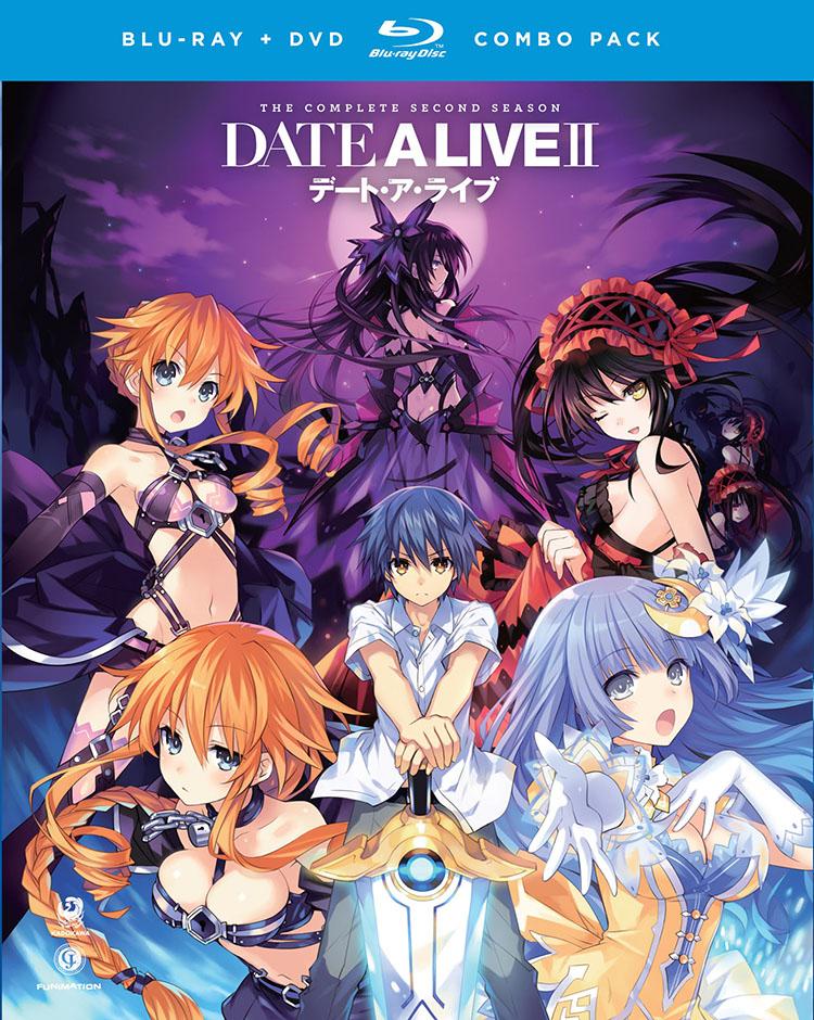 Date A Live II Blu-ray/DVD 704400015748