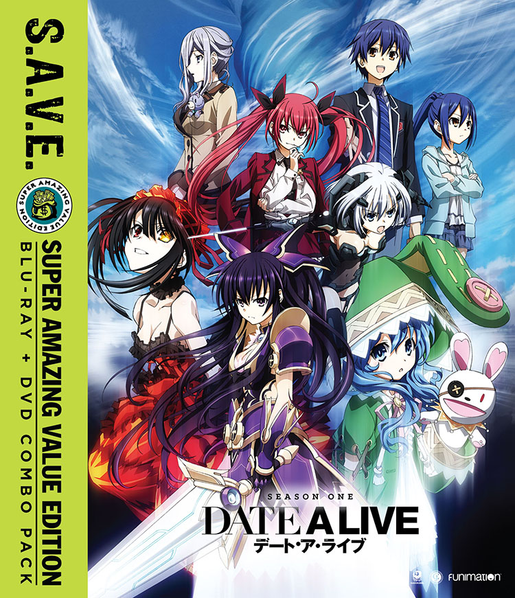 Date A Live Season 1 Blu-ray/DVD SAVE Edition 704400015755