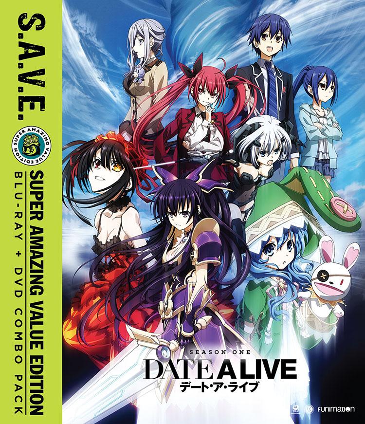 Date A Live Season 1 Blu-ray/DVD SAVE Edition