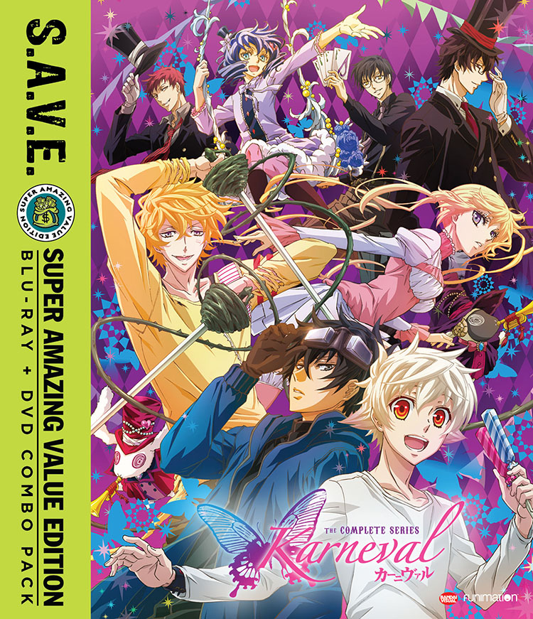 Karneval Complete Series Blu-ray/DVD SAVE Edition 704400015823