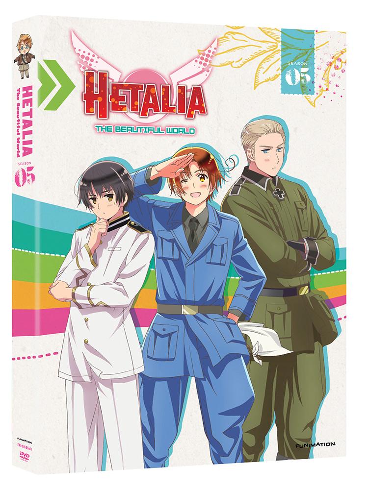 Hetalia Season 5 (The Beautiful World) DVD 704400015861