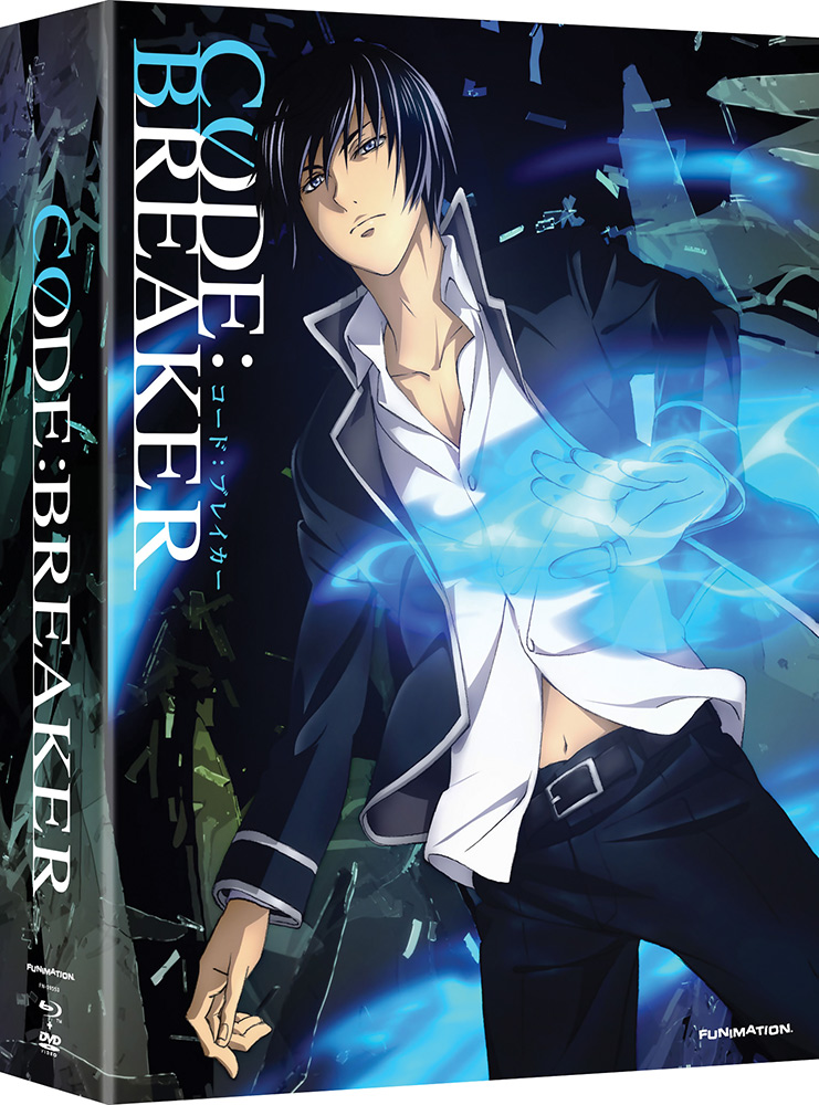 Code:Breaker Limited Edition Blu-ray/DVD Complete Series 704400015908