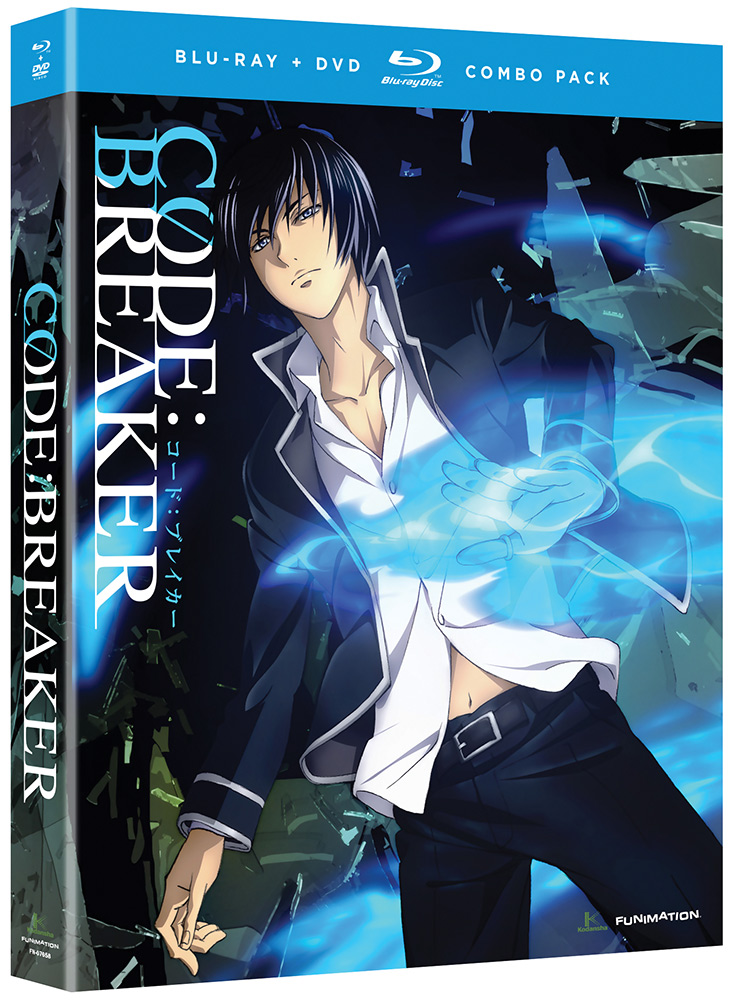 Code:Breaker Blu-ray/DVD Complete Series 704400015915
