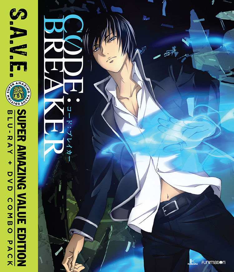 Code Breaker Blu-ray/DVD SAVE Edition 704400015922