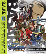 Sengoku Basara Samurai Kings Season 1-2 + OVA SAVE Edition
