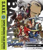 Sengoku Basara Samurai Kings Season 1-2 + OVA SAVE Edition