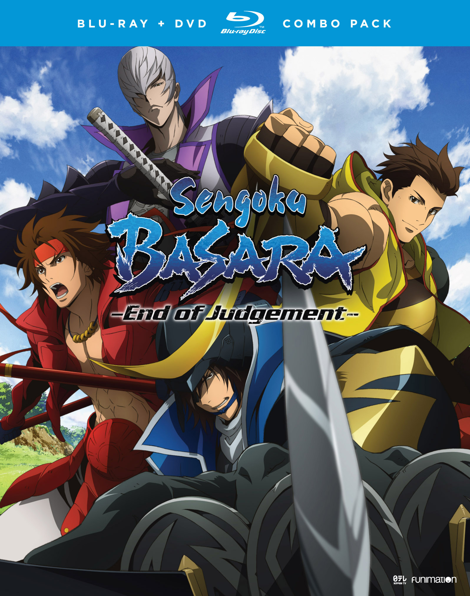 Sengoku Basara Season 3 Blu-ray/DVD 704400016271