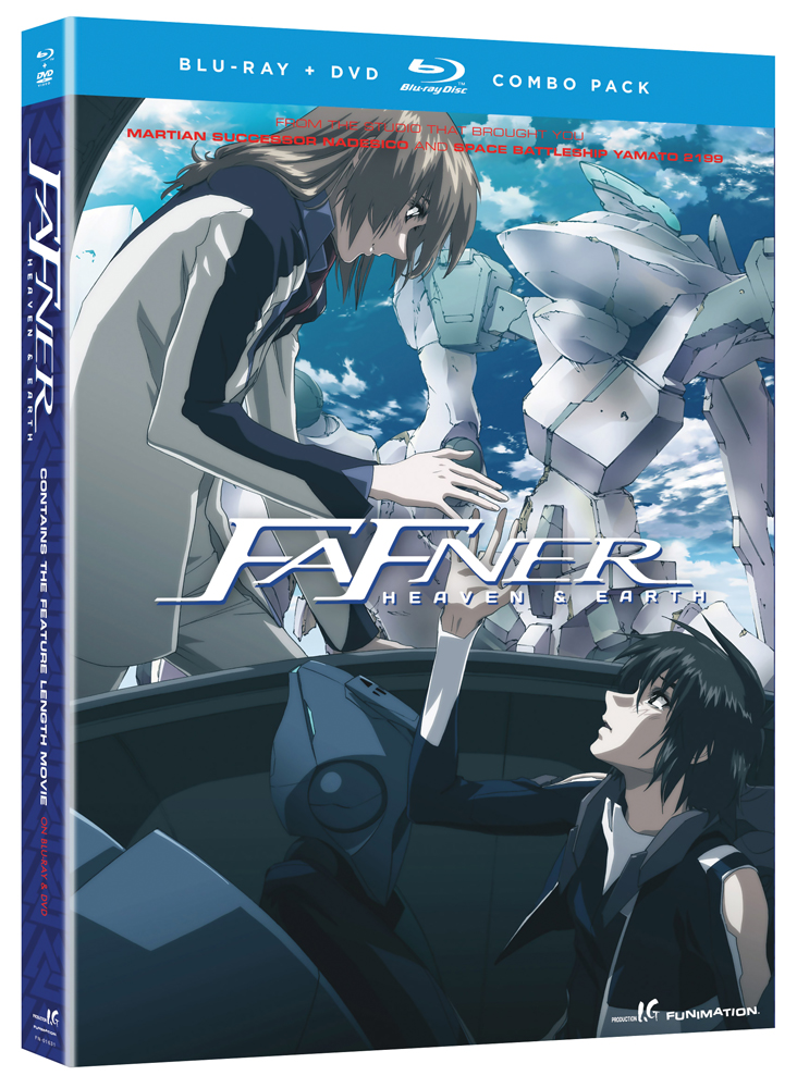 Fafner Movie Heaven and Earth Blu-ray/DVD 704400016318