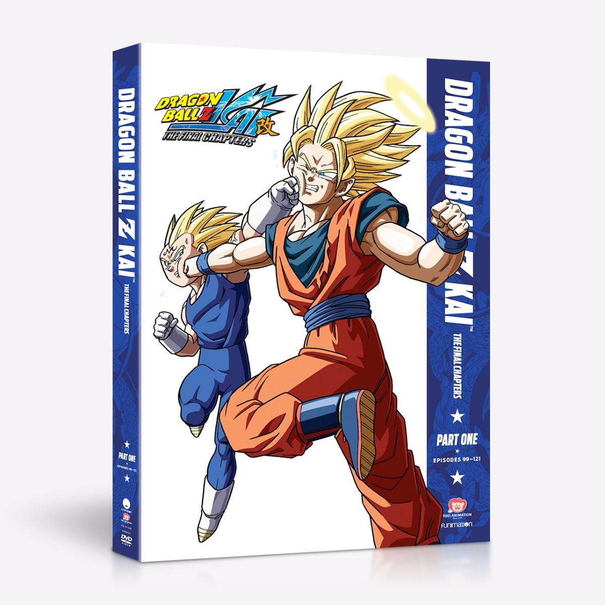 Dragon Ball Z Kai The Final Chapters Part 1 DVD