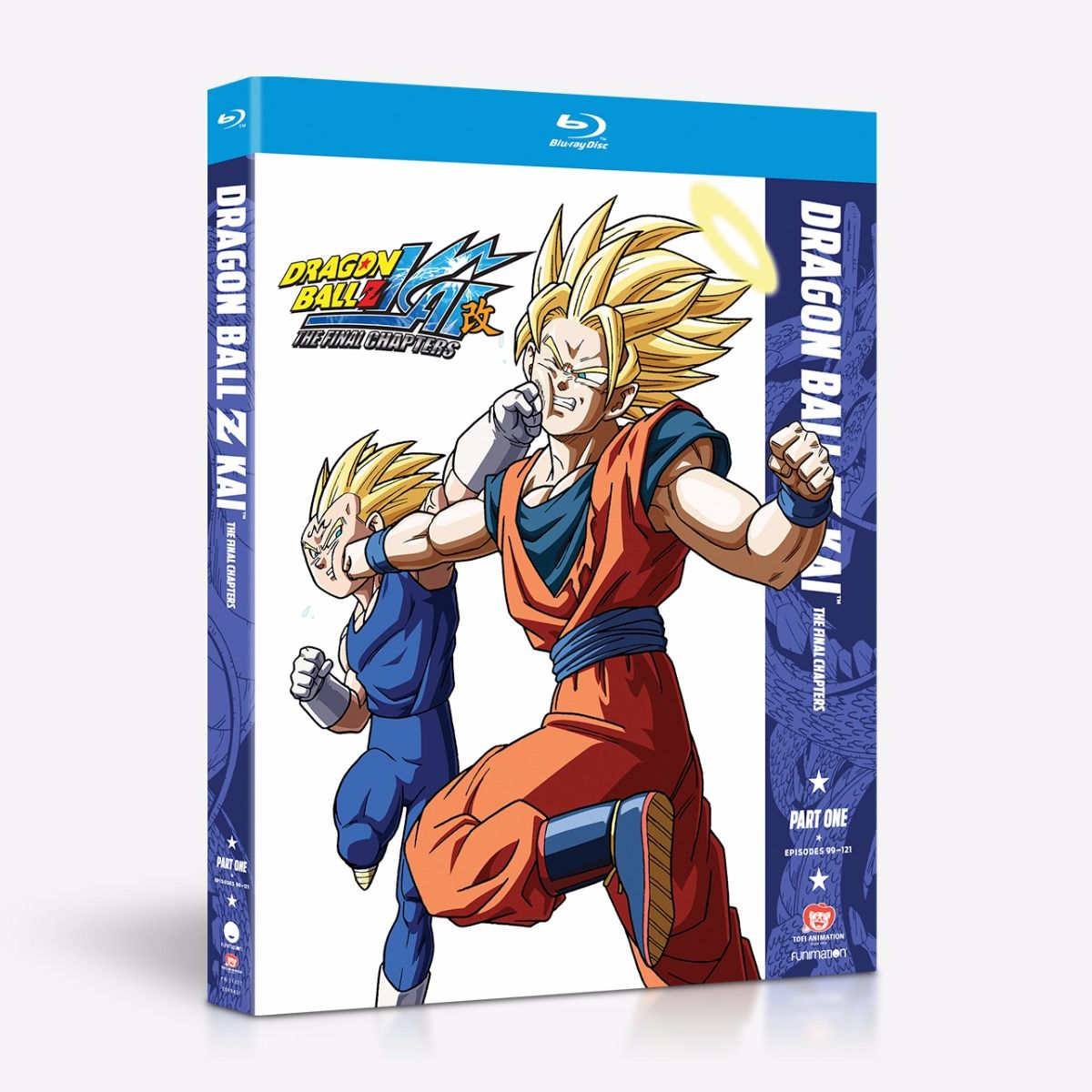 Dragon Ball Z Kai The Final Chapters Part 1 Blu-ray 704400016370