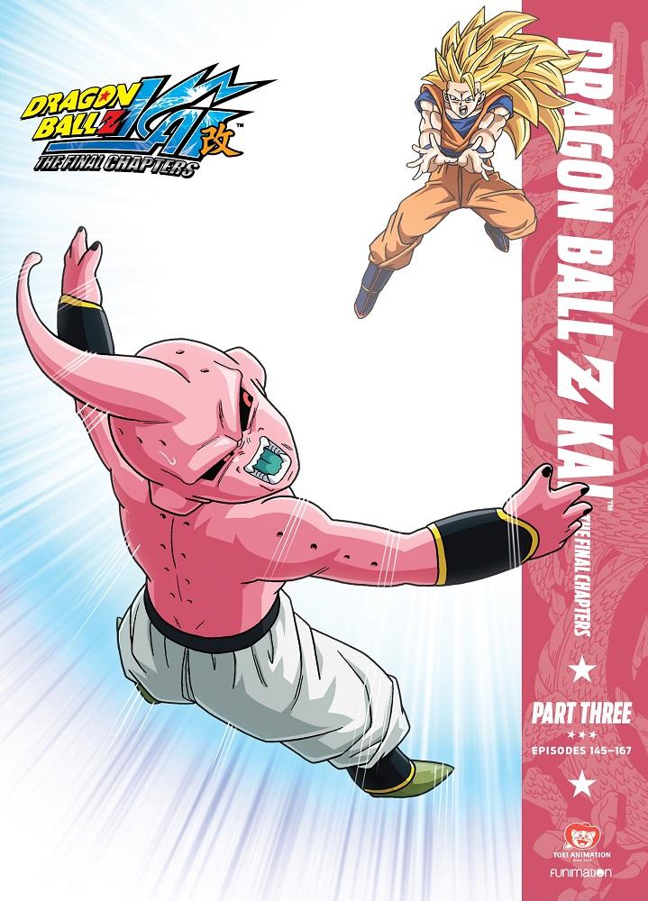 Dragon Ball Z Kai The Final Chapters Part 3 DVD