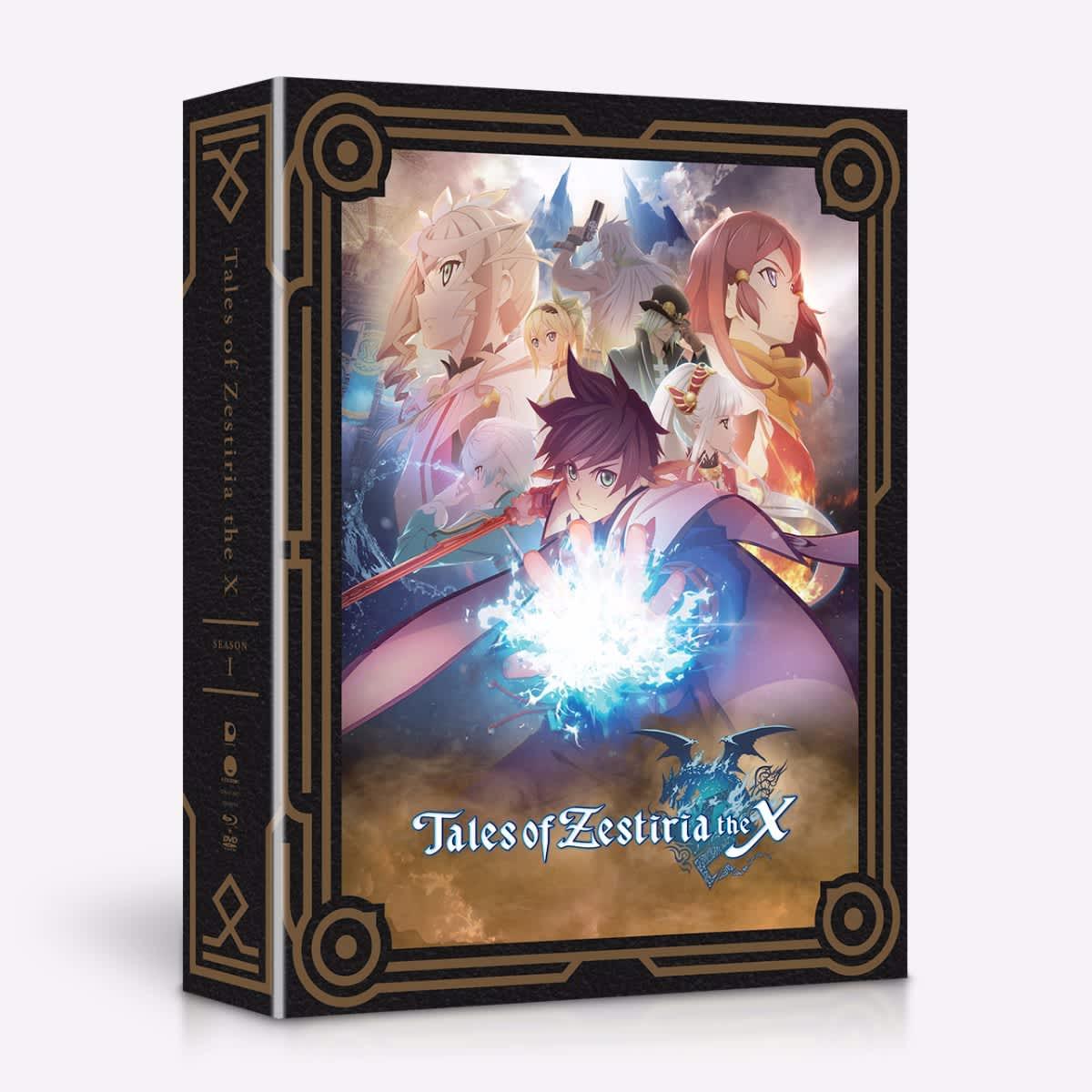 Tales of Zestiria the X Season 1 Limited Edition Blu-ray/DVD