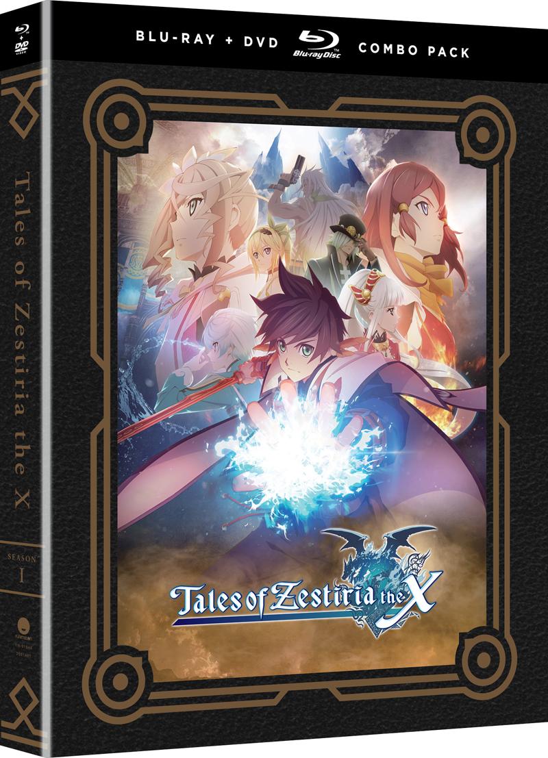 Tales of Zestiria the X Season 1 Blu-ray/DVD 704400016462
