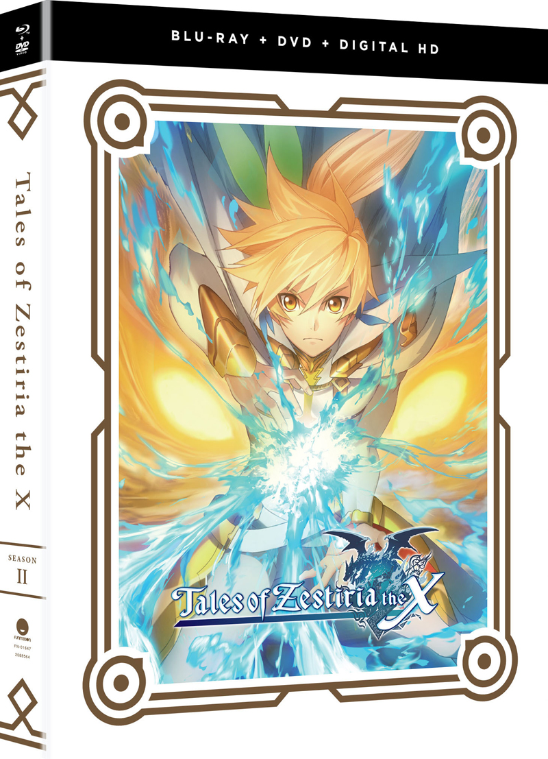 Tales of Zestiria the X Season 2 Blu-ray/DVD 704400016479