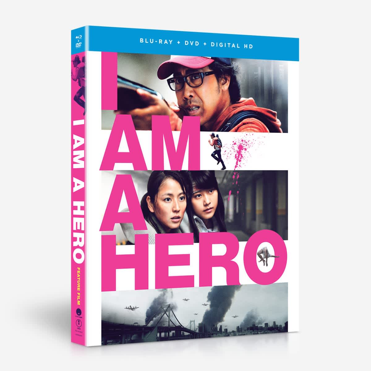 I am a Hero Blu-ray/DVD 704400016523
