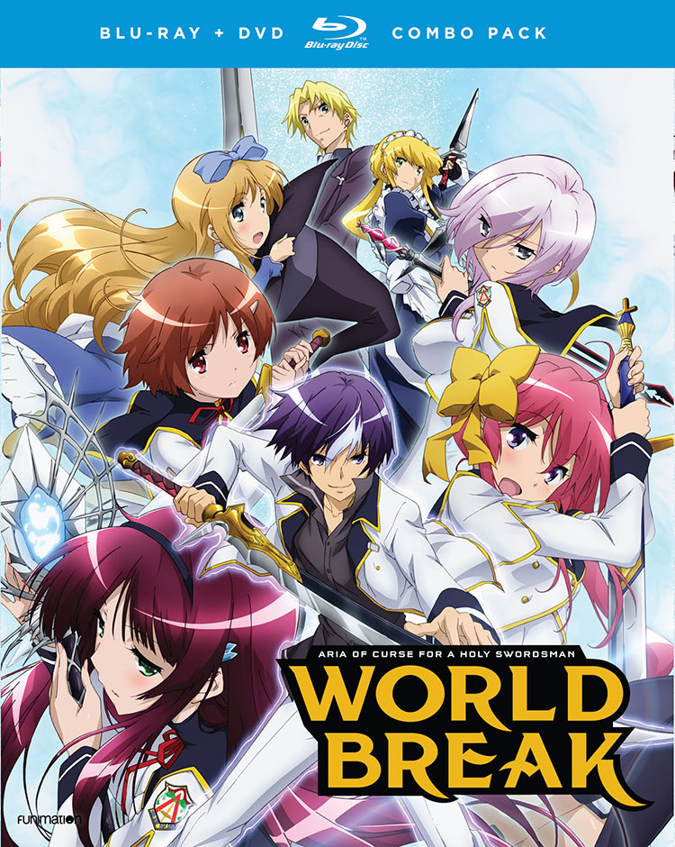 World Break Aria of Curse for a Holy Swordsman Blu-ray/DVD 704400016608