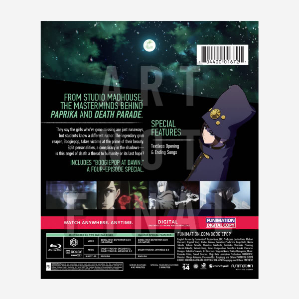 Boogiepop and Others Blu-ray