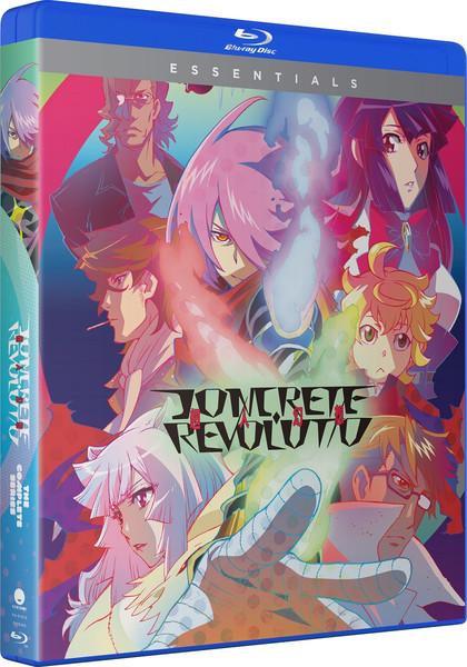 Concrete Revolutio Essentials Blu-ray